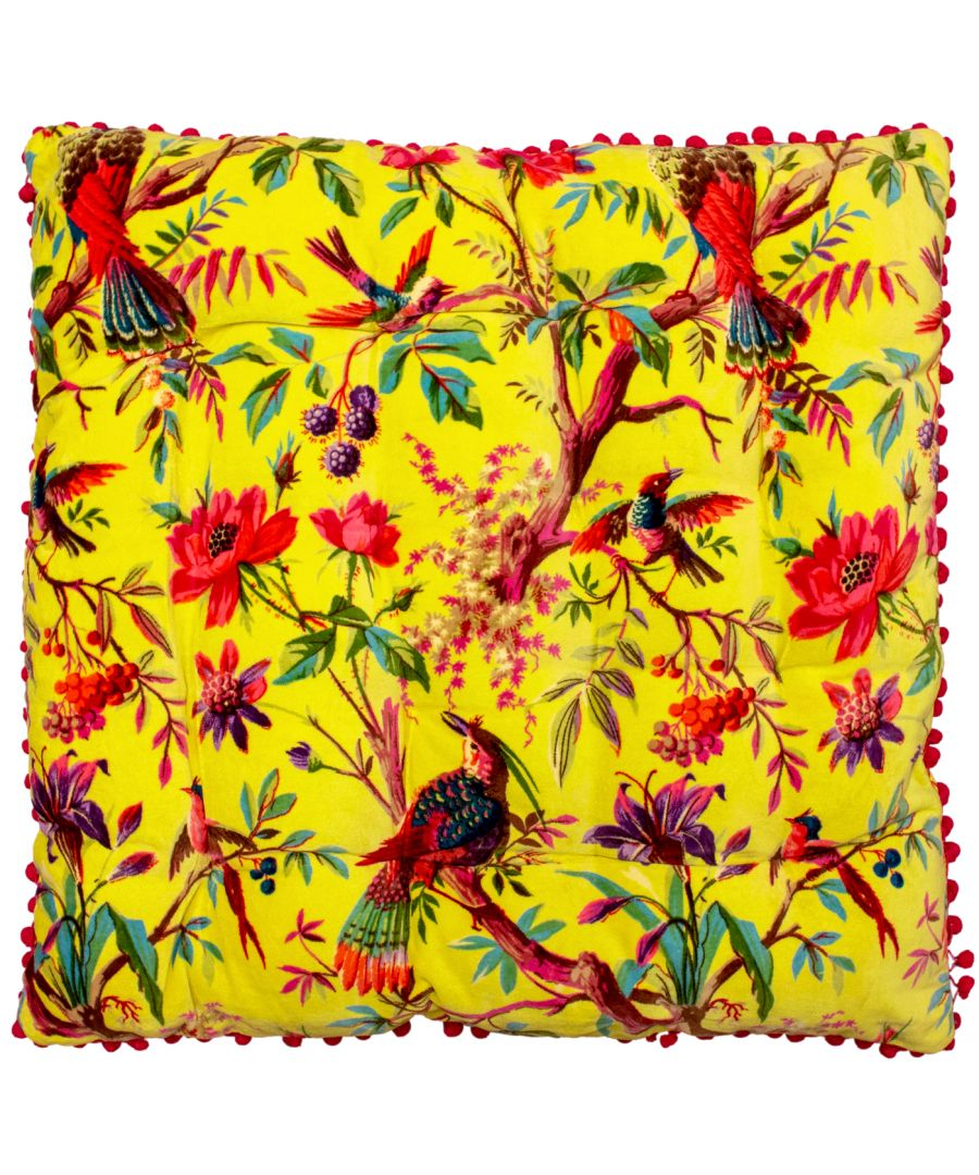 Image for Paradise 70X70 Floor Cushion Acacia