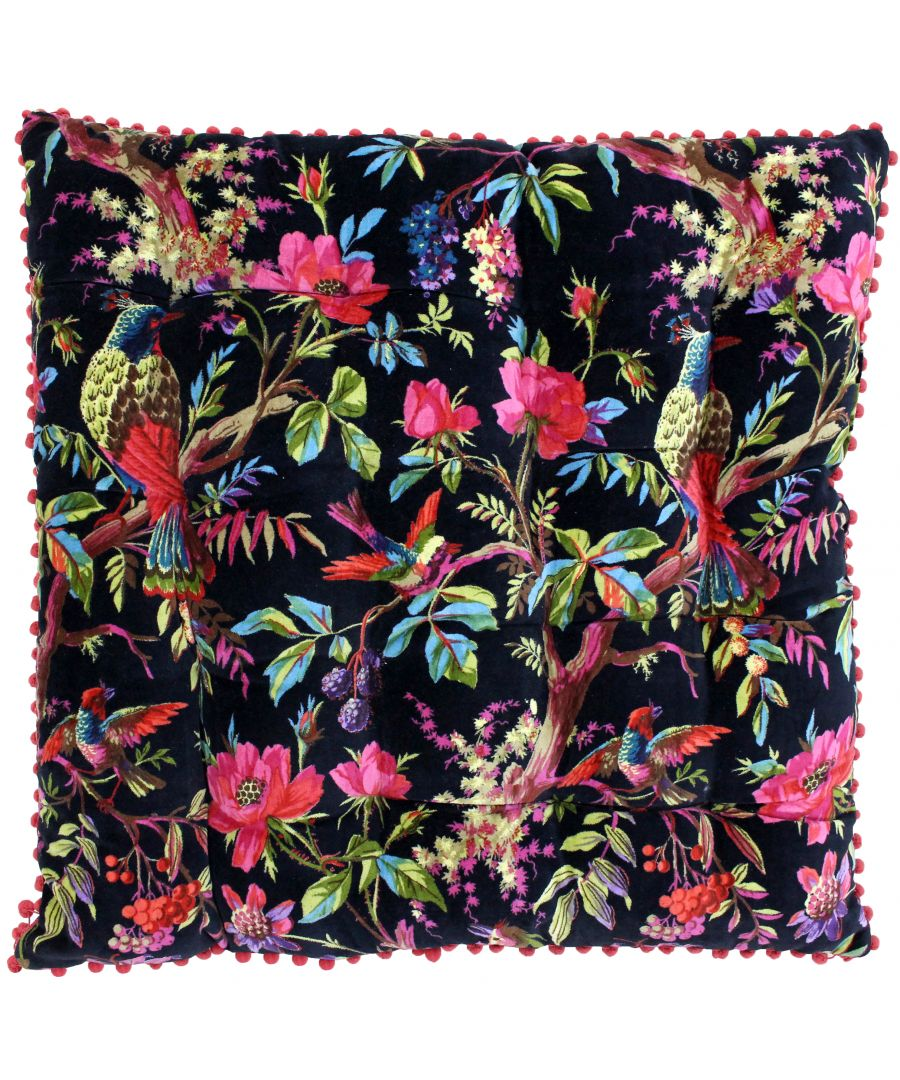Image for Paradise 70X70 Floor Cushion Black