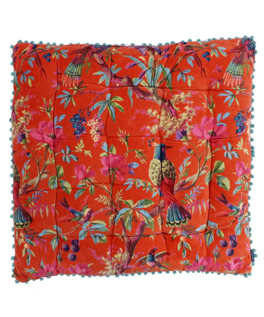 Image for Paradise 70X70 Floor Cushion Orange