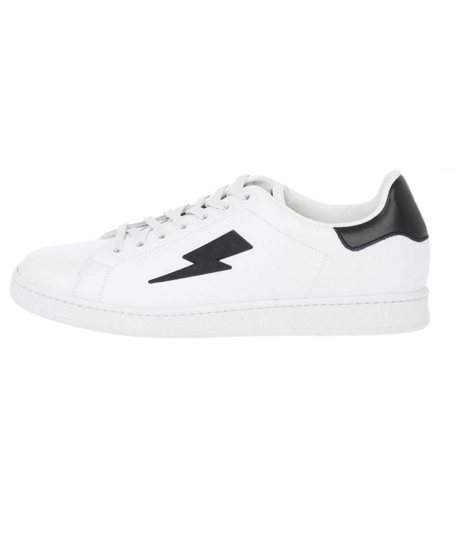 Image for Neil Barrett Thunderbolt Tennis Low Sneakers