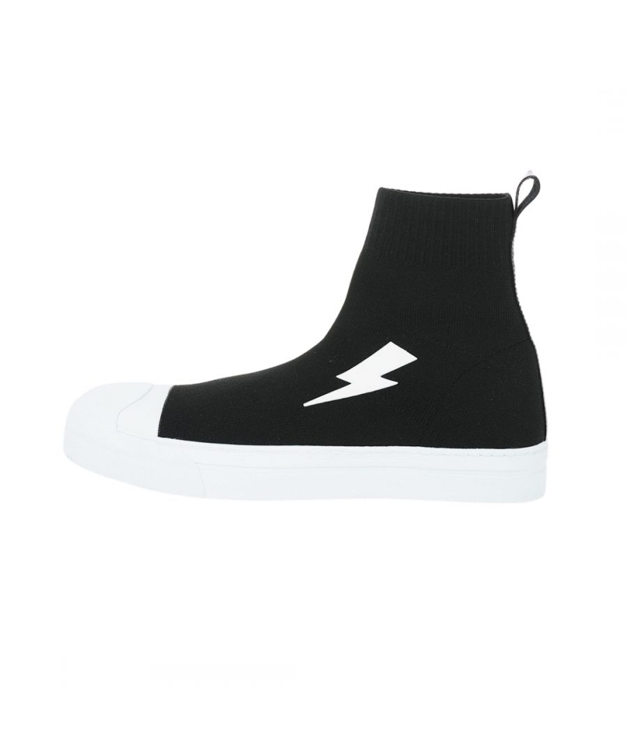 Image for Neil Barrett Big Bolt Sock Skater Sneakers