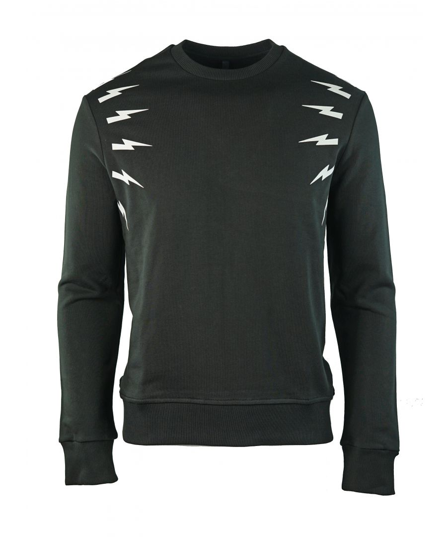 Image for Neil Barrett PBJS333A G517S 524 Black Jumper