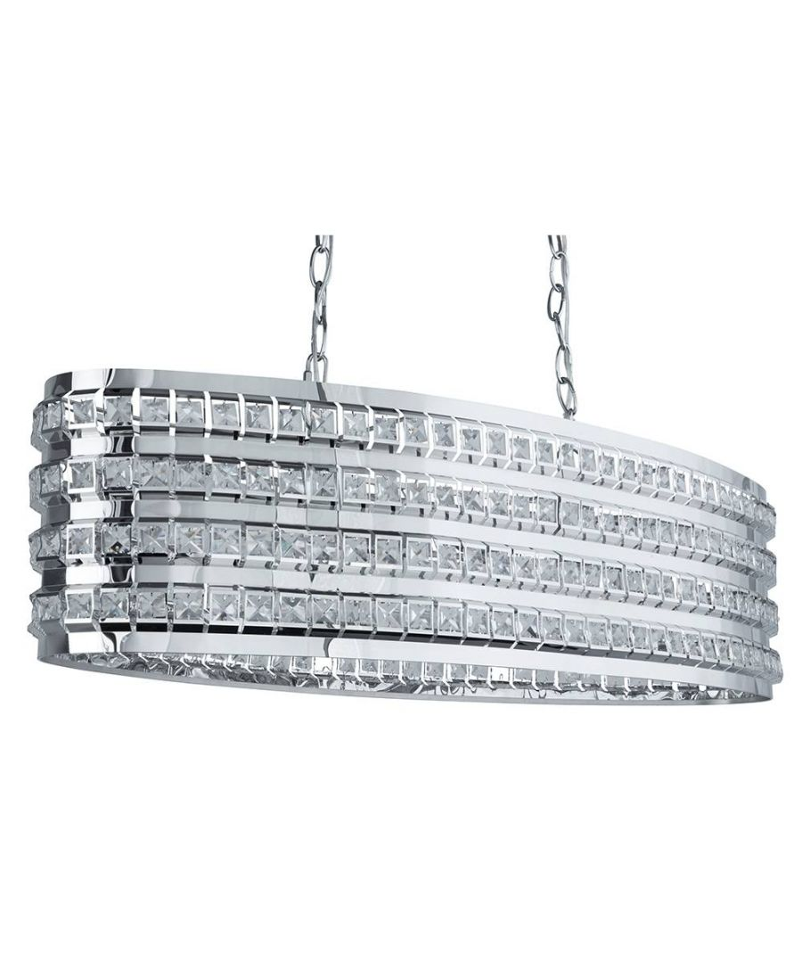 Image for Charlize Oval Pendant Light