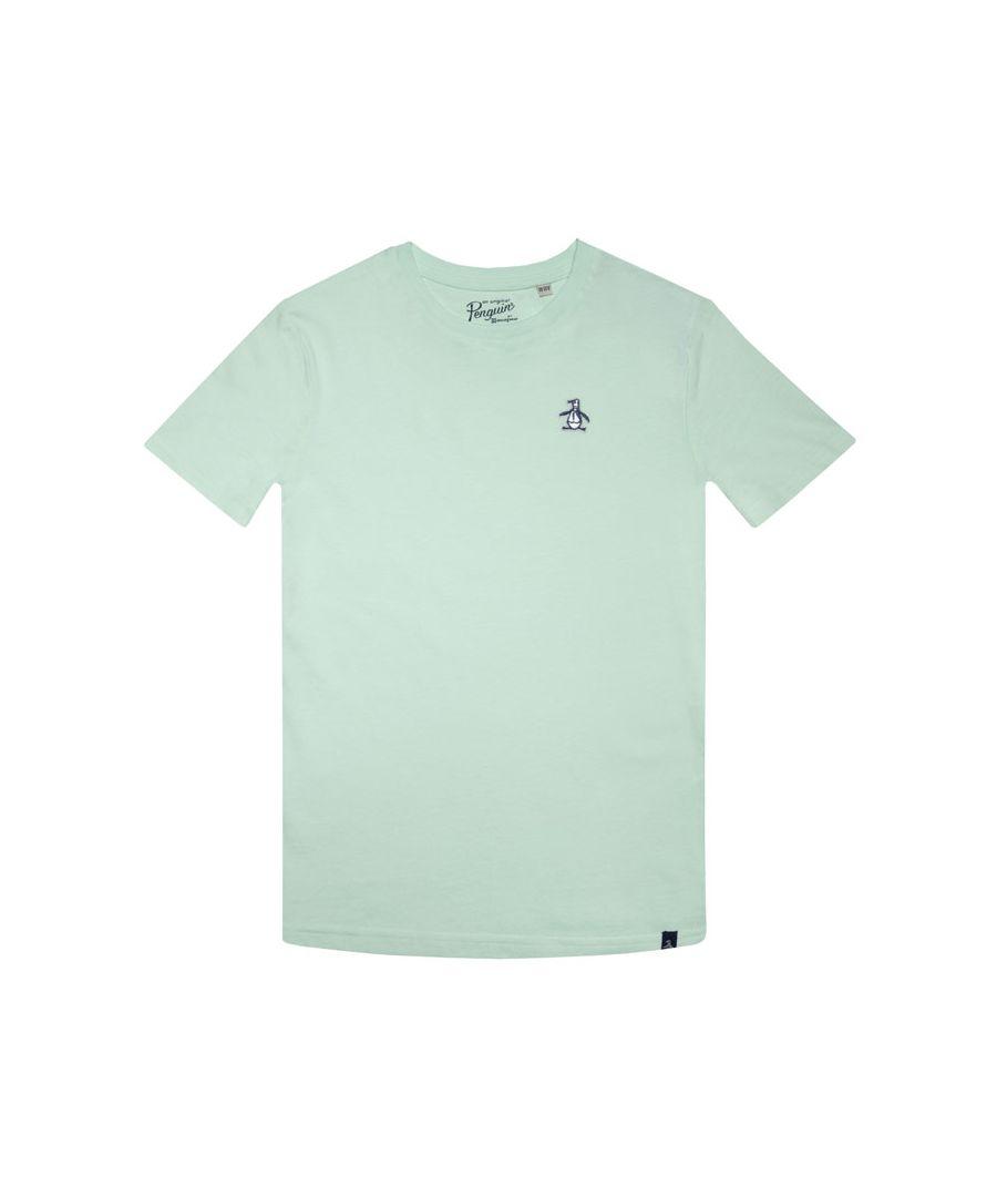 Image for Boy's Original Penguin Junior Penguin T-Shirt in Green