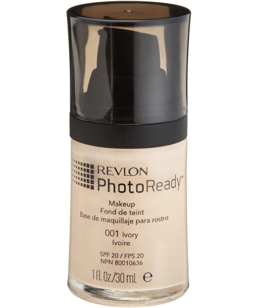 Image for Revlon Photoready Airbrush Effect Make Up SPF20 30ml - 001 Ivory