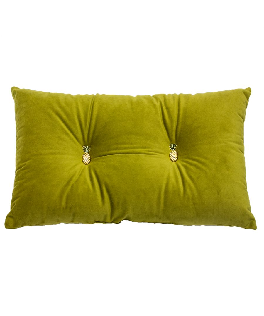 Image for Pineapple 30X50 Pf Cushion Olive