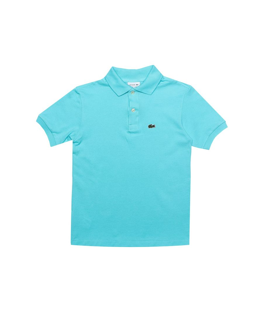 Image for Boy's Lacoste Junior Polo Shirt in Blue