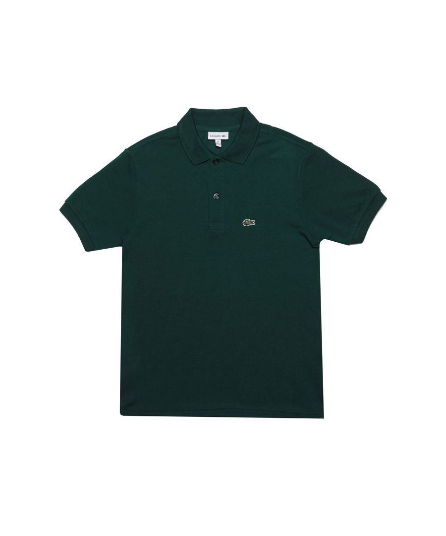 Image for Boy's Lacoste Infant Polo Shirt in Green