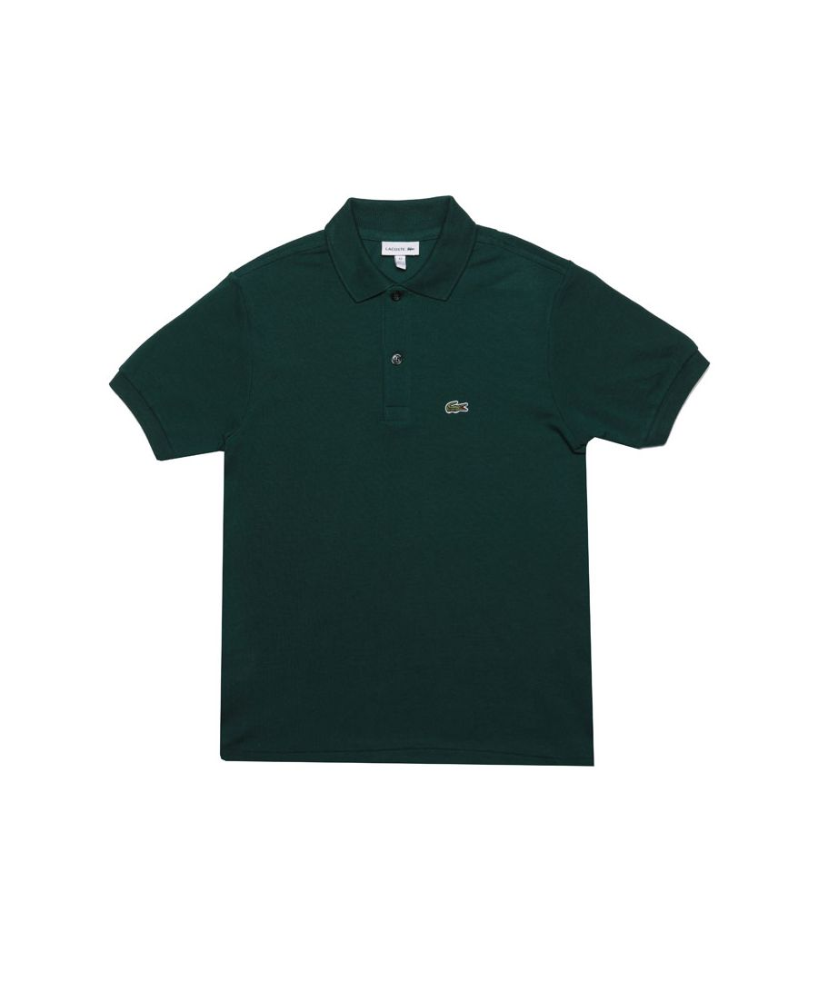 Image for Boy's Lacoste Junior Polo Shirt in Green