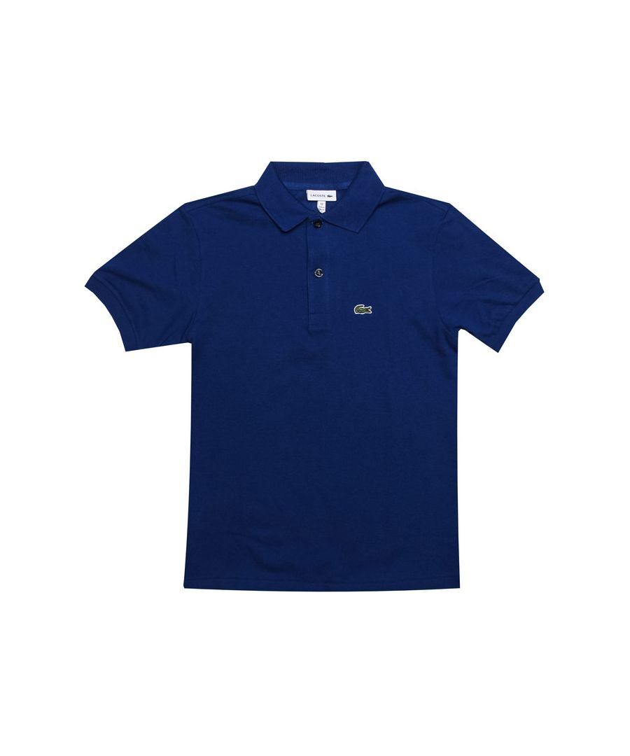 Image for Boy's Lacoste Junior Polo Shirt in Royal Blue