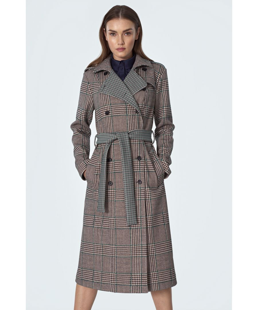 Image for Double Breasted Coat With Pepito Strap