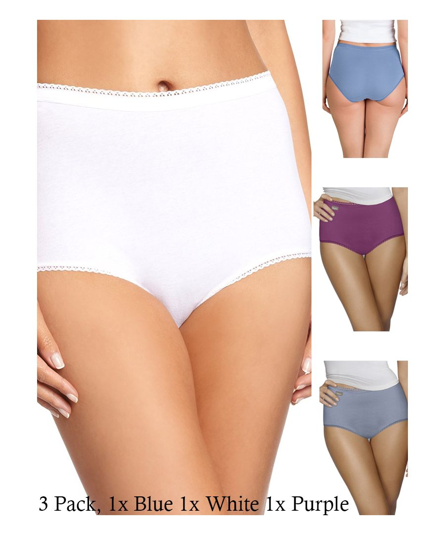 Image for Pure Cotton Cherish Maxi 3 Pack Brief