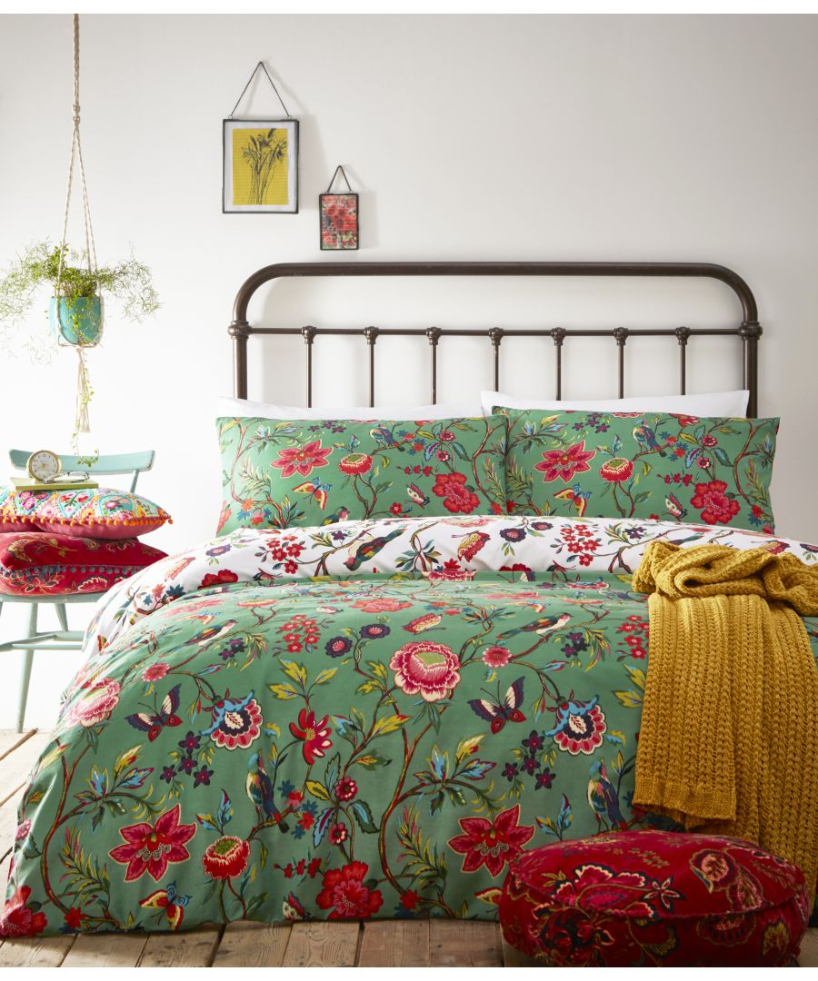 Image for Pomelo Duvet Set Verdi