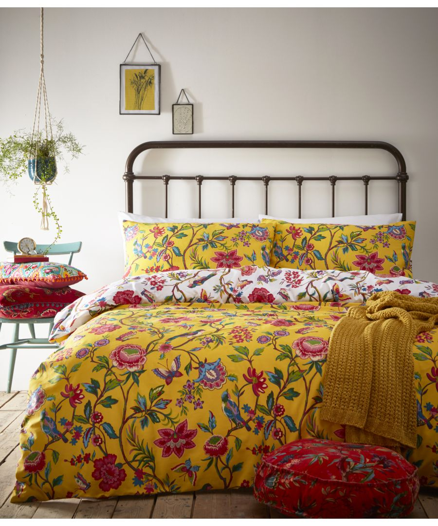 Image for Pomelo Duvet Set Yellow