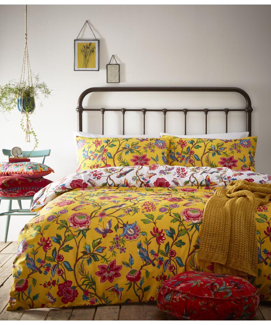 Image for Pomelo Duvet Set Yellow