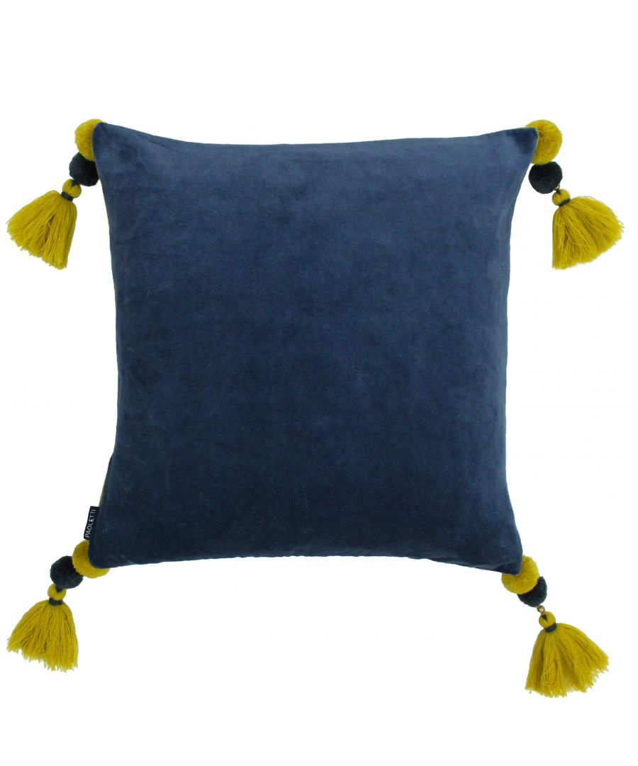 Image for Poonam 45X45 Poly Cushion Singlelu/Lcur