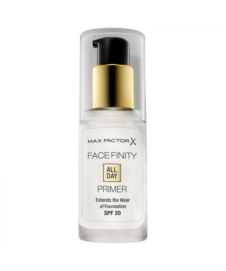 Image for Max Factor Facefinity All Day Primer SPF20 30ml