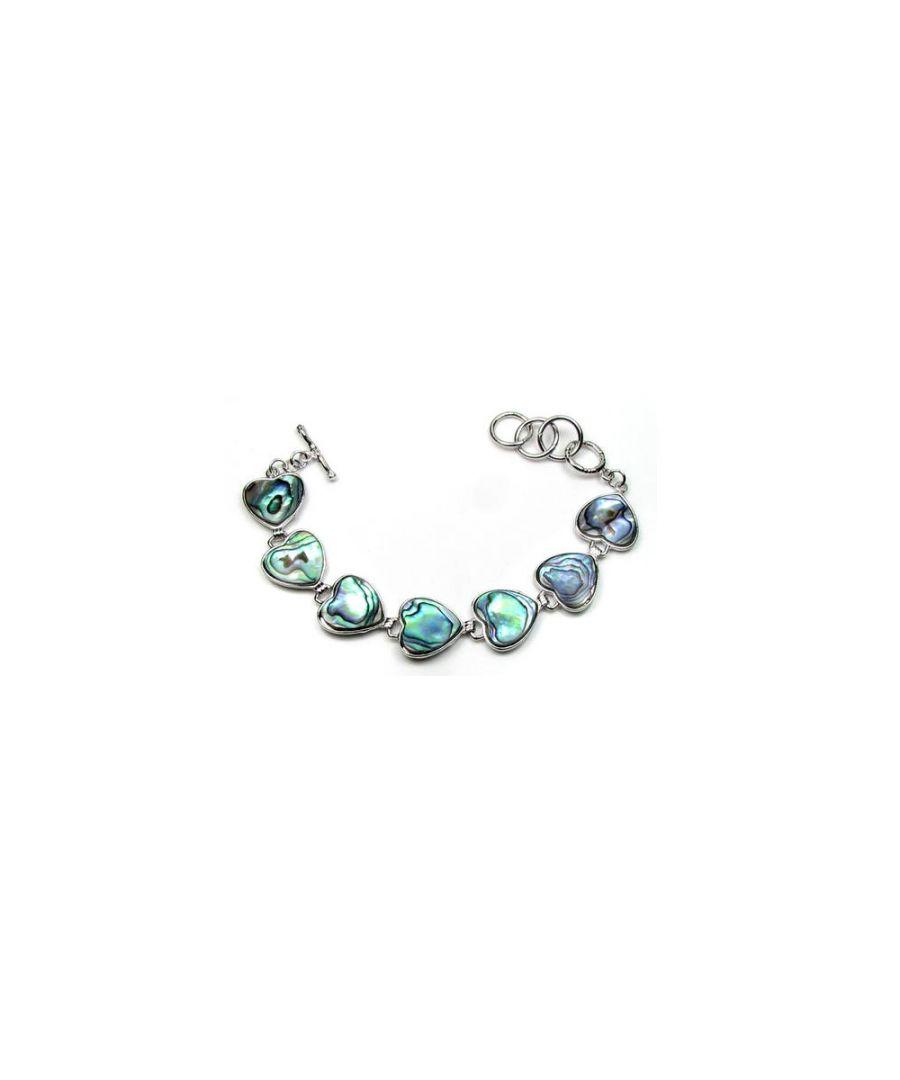 Image for Abalone Hearts Bracelet