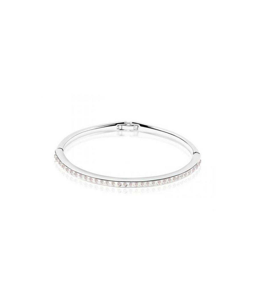 Image for Swarovski - Children Bangle bracelet made with a White Crystal from Swarovski
