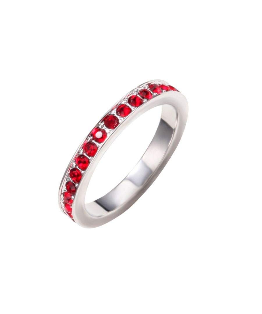 Image for Swarovski - Red Swarovski Crystal Elements Ring