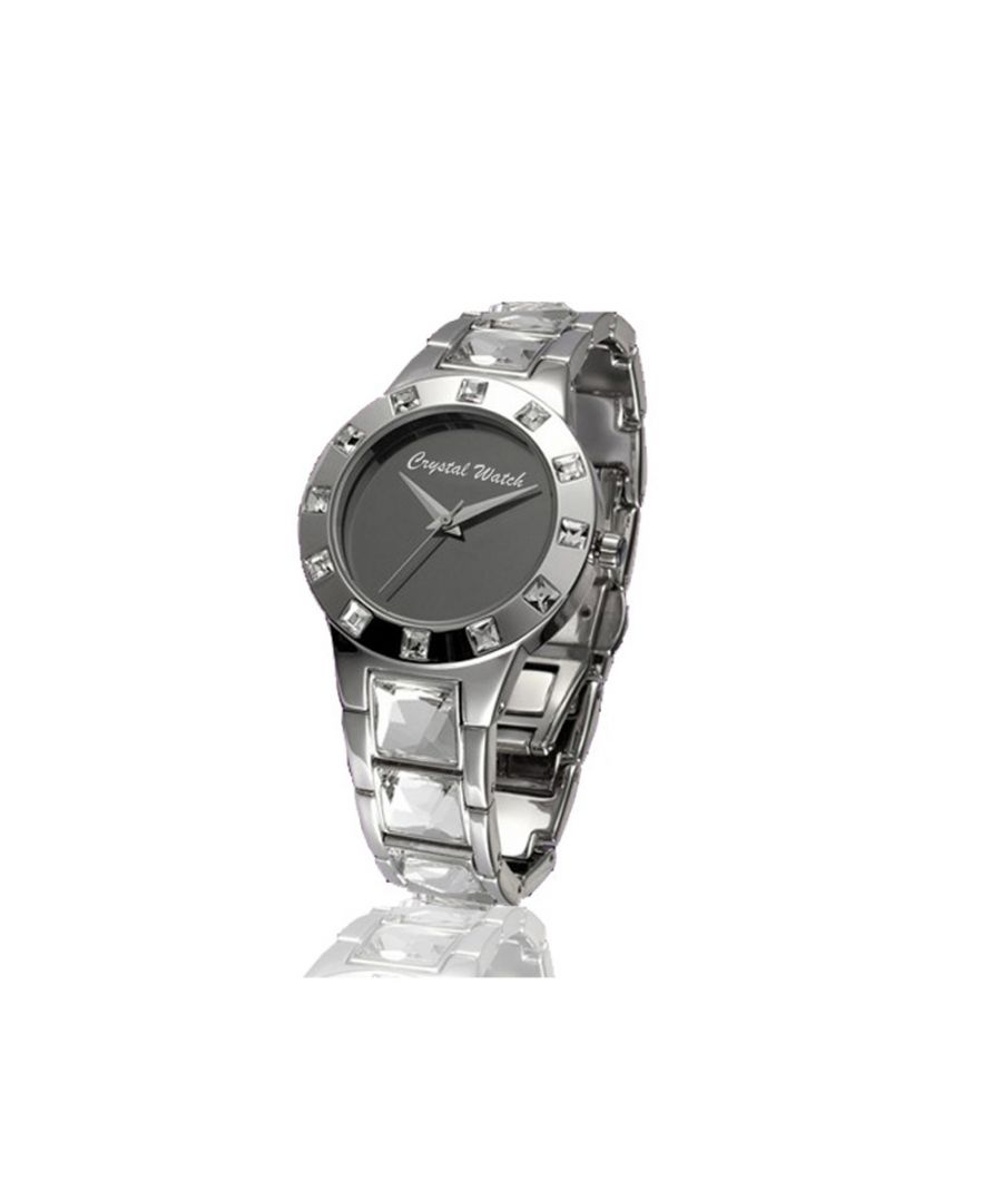 Image for Swarovski - Crystal Watch with genuine white Swarovski Crystal Elements