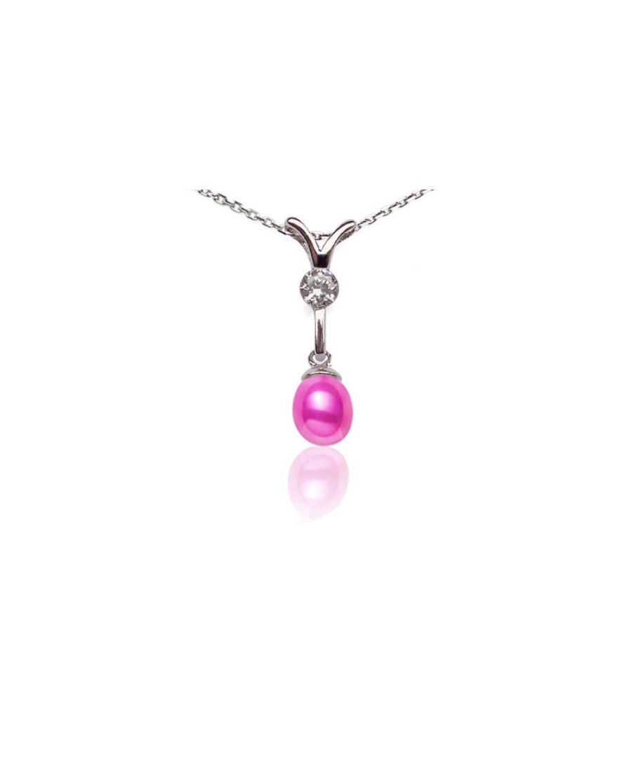 Image for Pink Freshwater Pearl Pendant and 925 Silver