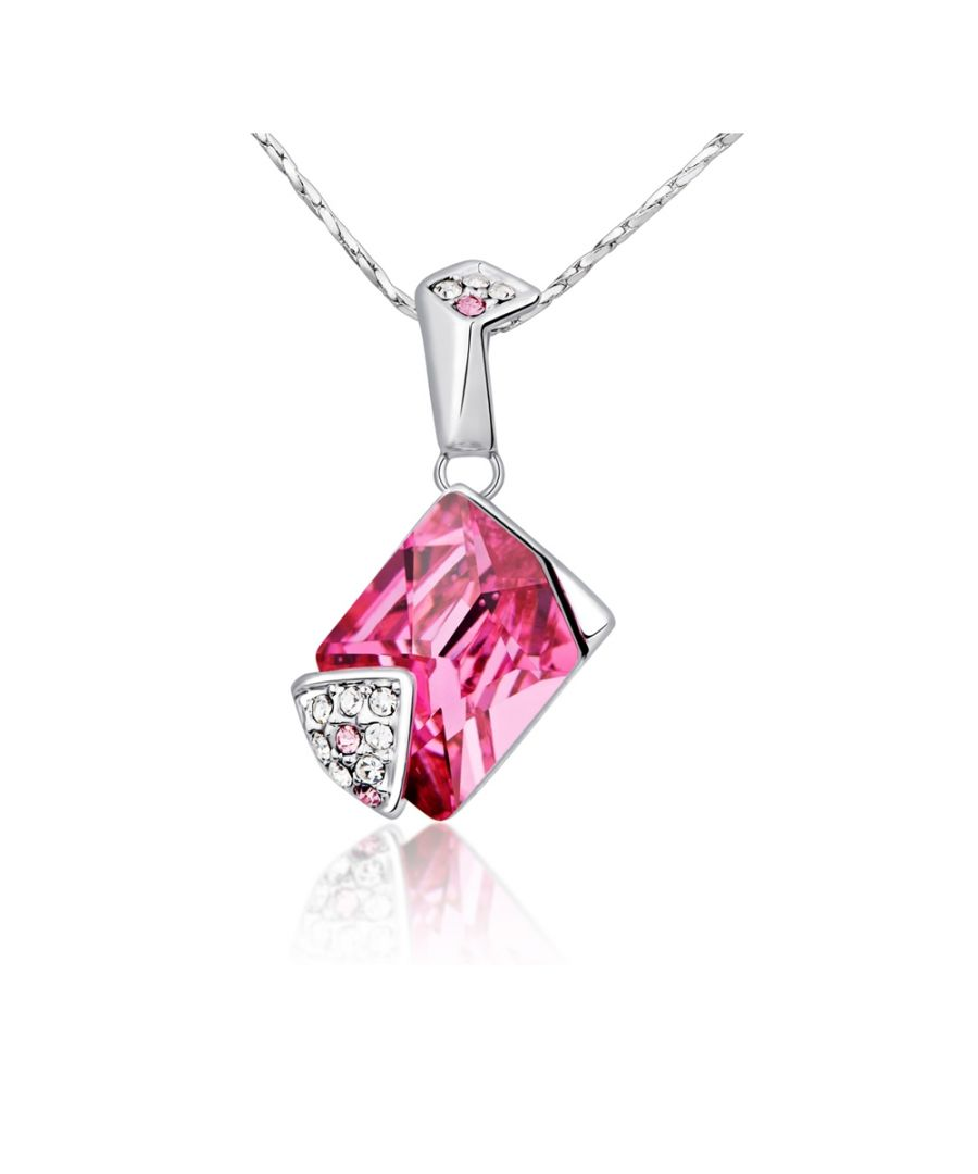 Image for Swarovski - Pink Swarovski Crystal Element Pendant