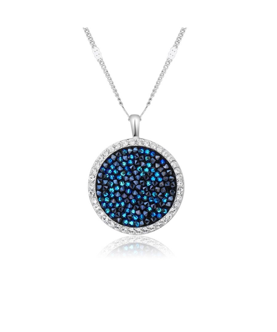 Image for Swarovski - Rock Blue Swarovski Crystal Elements Pendant