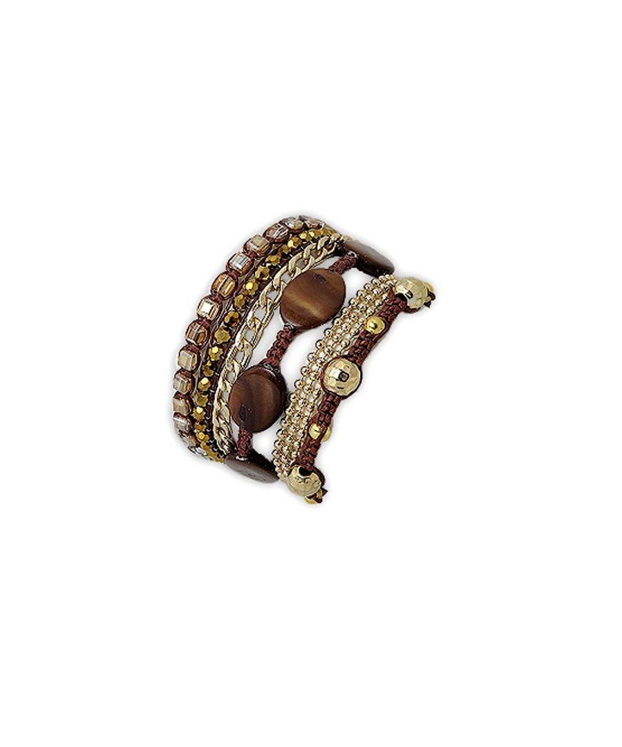 Image for Golden Bronze Mother of pearl Bracelet
