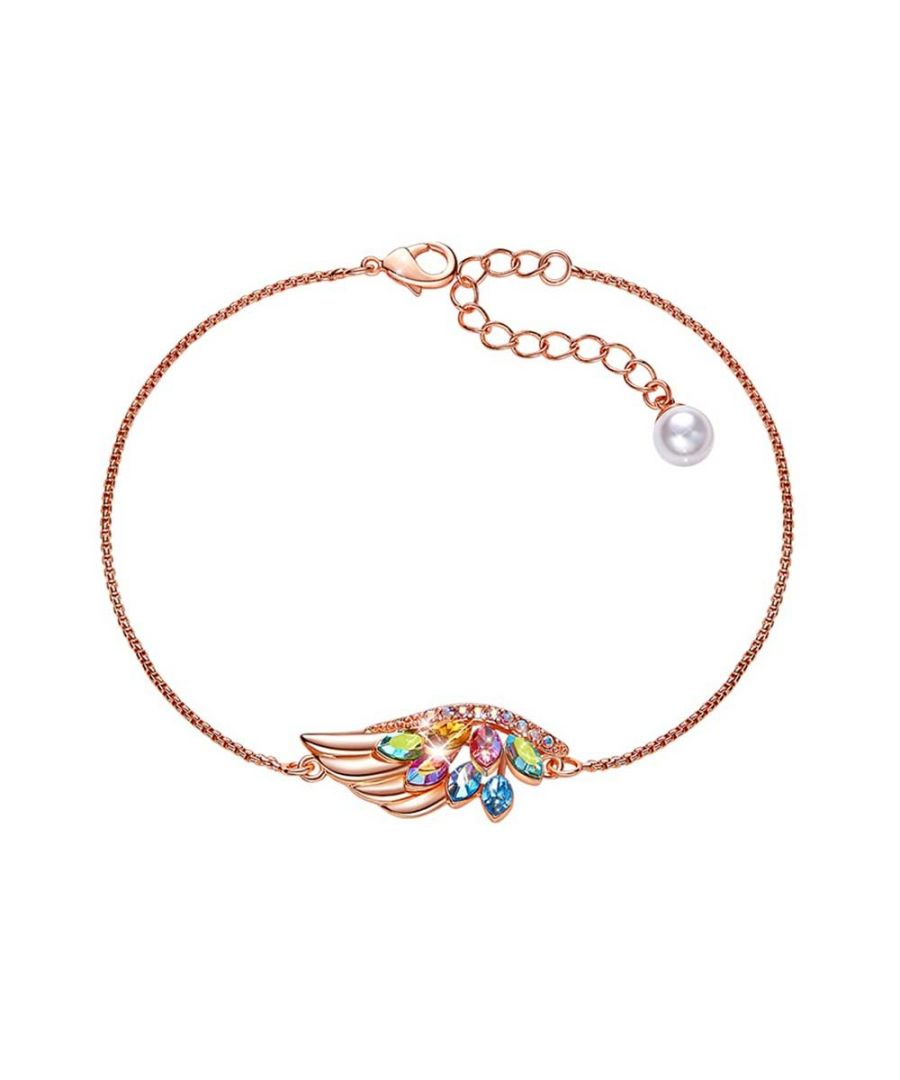 Image for Swarovski - Women's Wing and Crystal Bracelet from Swarovski Multicolor