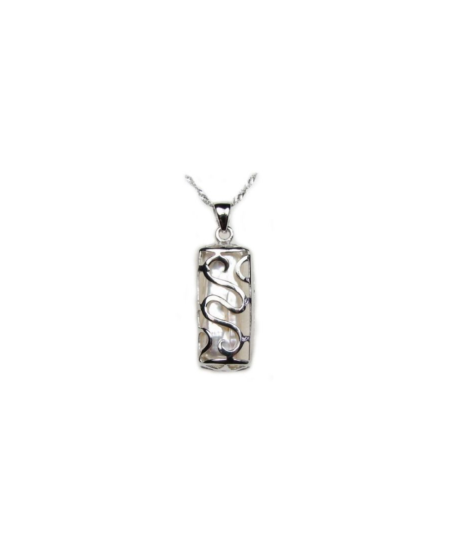 Image for Mother of Pearl and 925 Silver Pendant