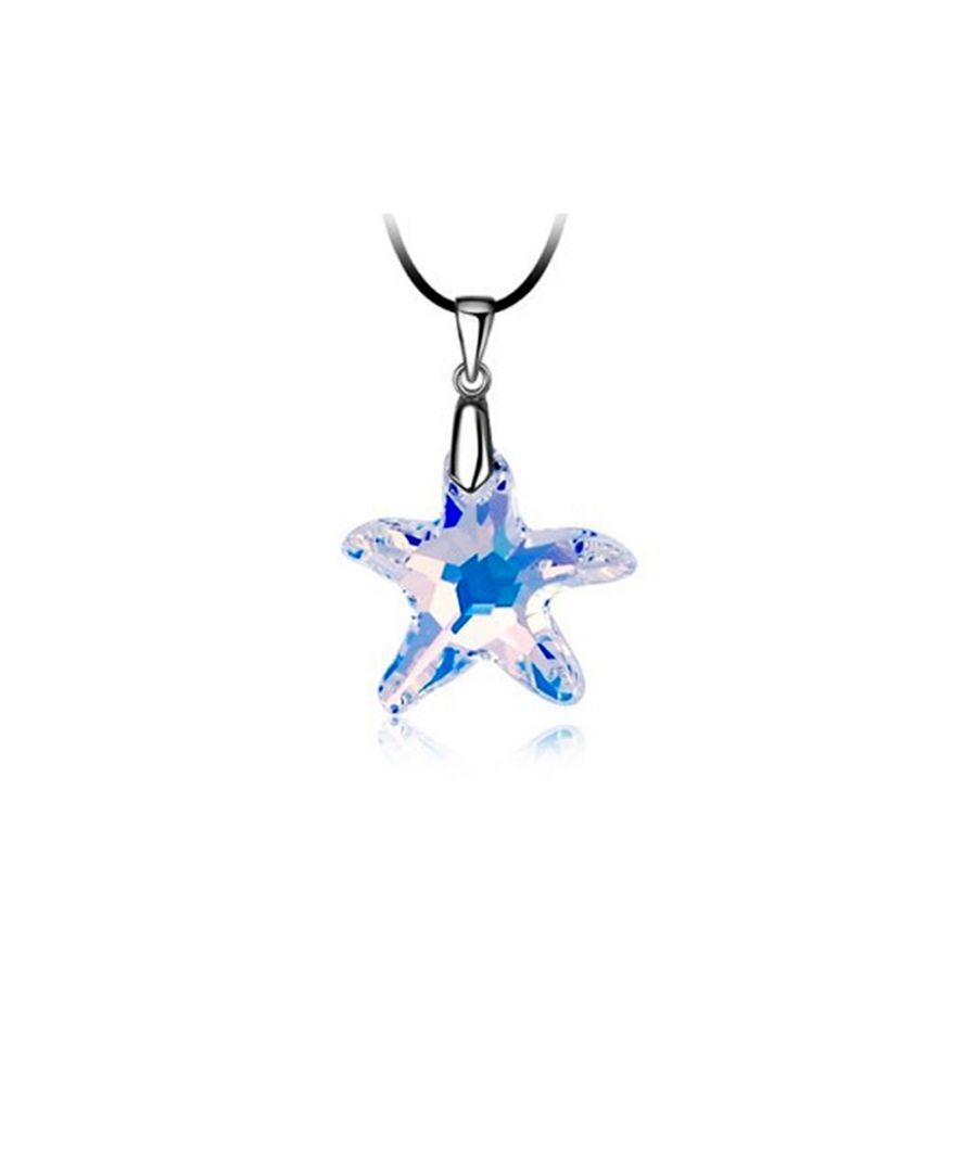 Image for Swarovski - White Swarovski Elements Crystal Star Necklace