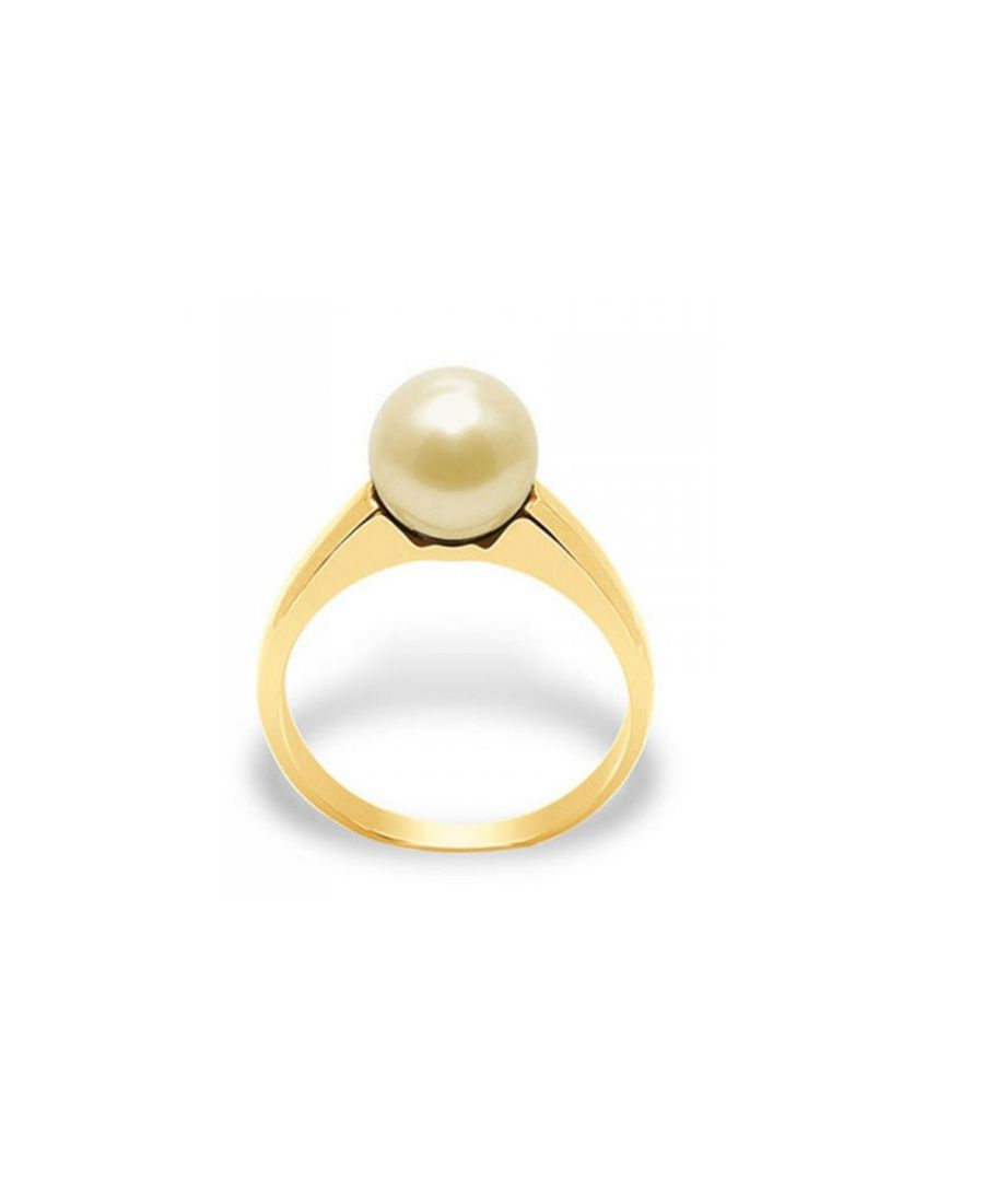 Image for Gold Freshwater Pearl Ring and Yellow Gold 375/1000