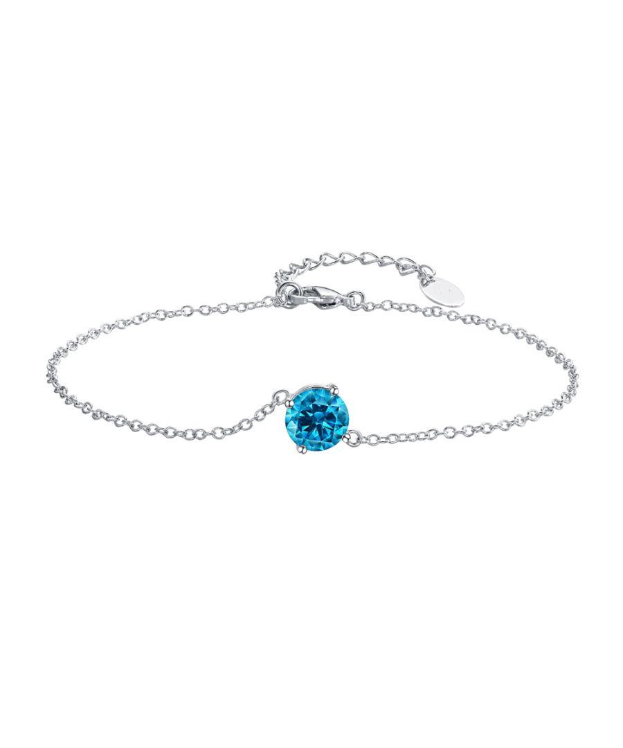 Image for Swarovski - Blue Swarovski Crystal Elements Bracelet