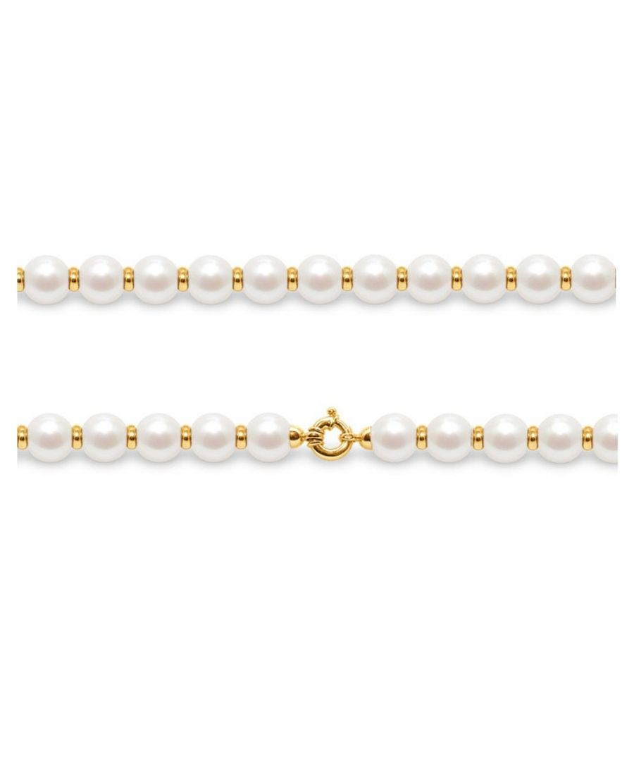 Image for White Freshwater Pearls and Yellow Gold 750/1000 Necklace