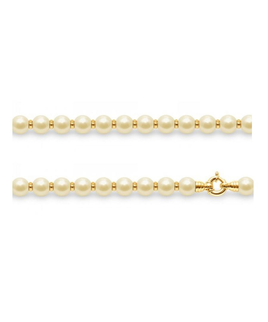 Image for Gold Freshwater Pearls and Yellow Gold 750/1000 Necklace