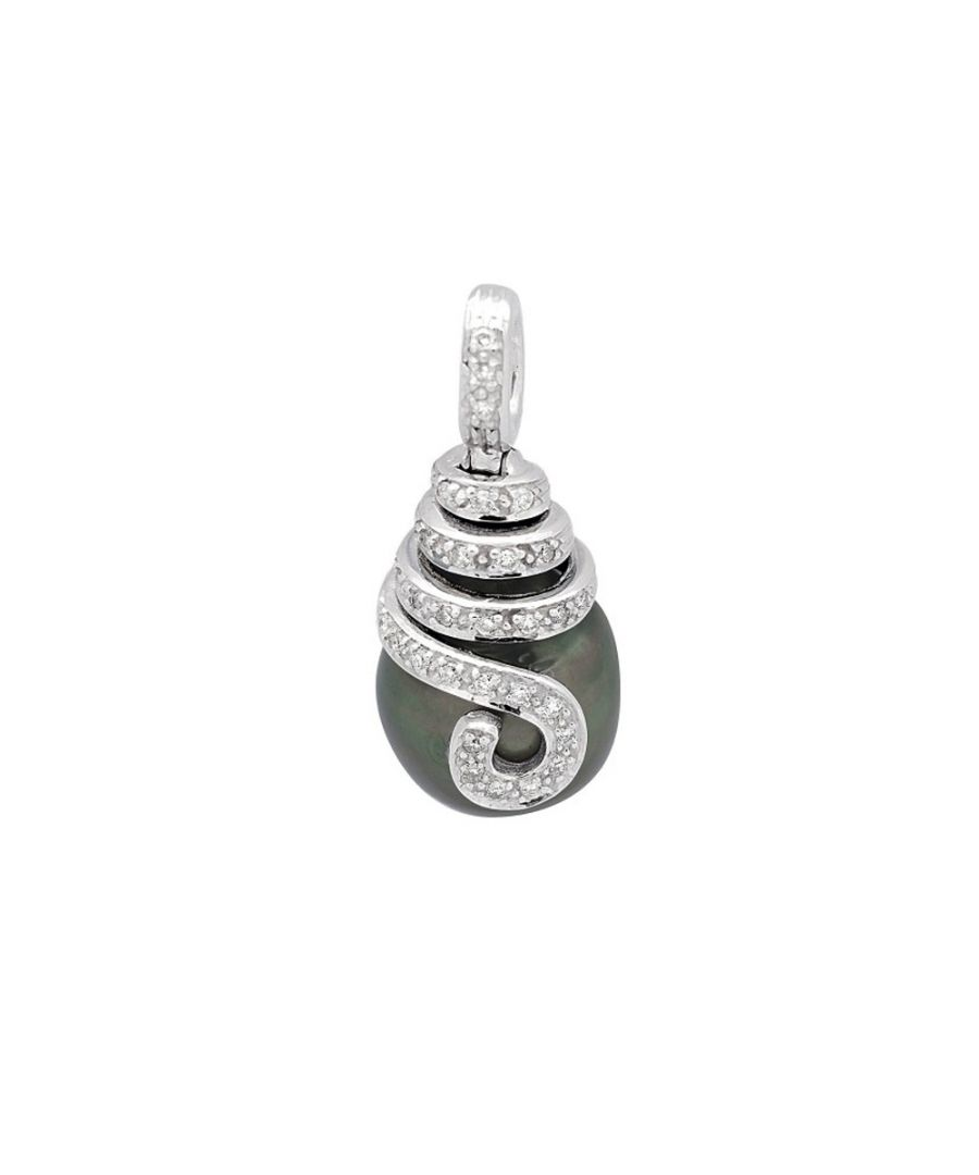 Image for Diamonds, Tahitian Pearl Pendant and White Gold 750/1000