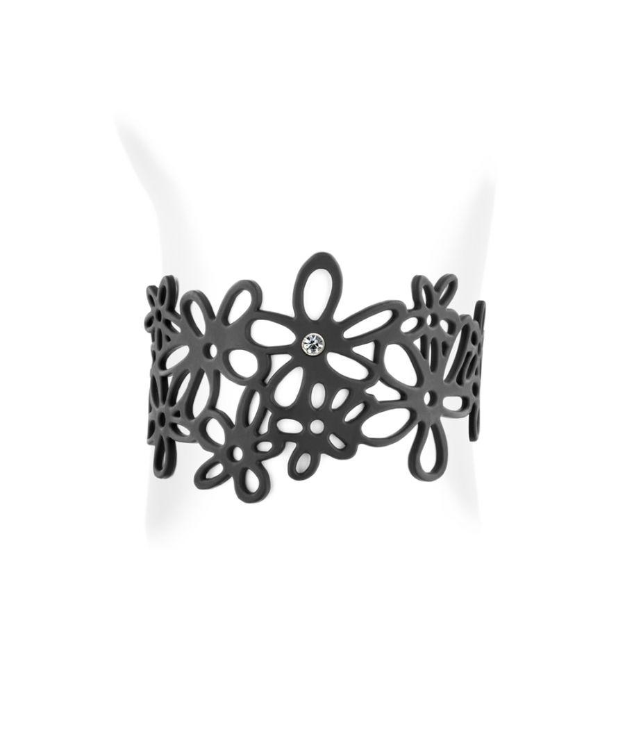 Image for Black Silicone Gum Bohemia Bracelet Effect Tatto