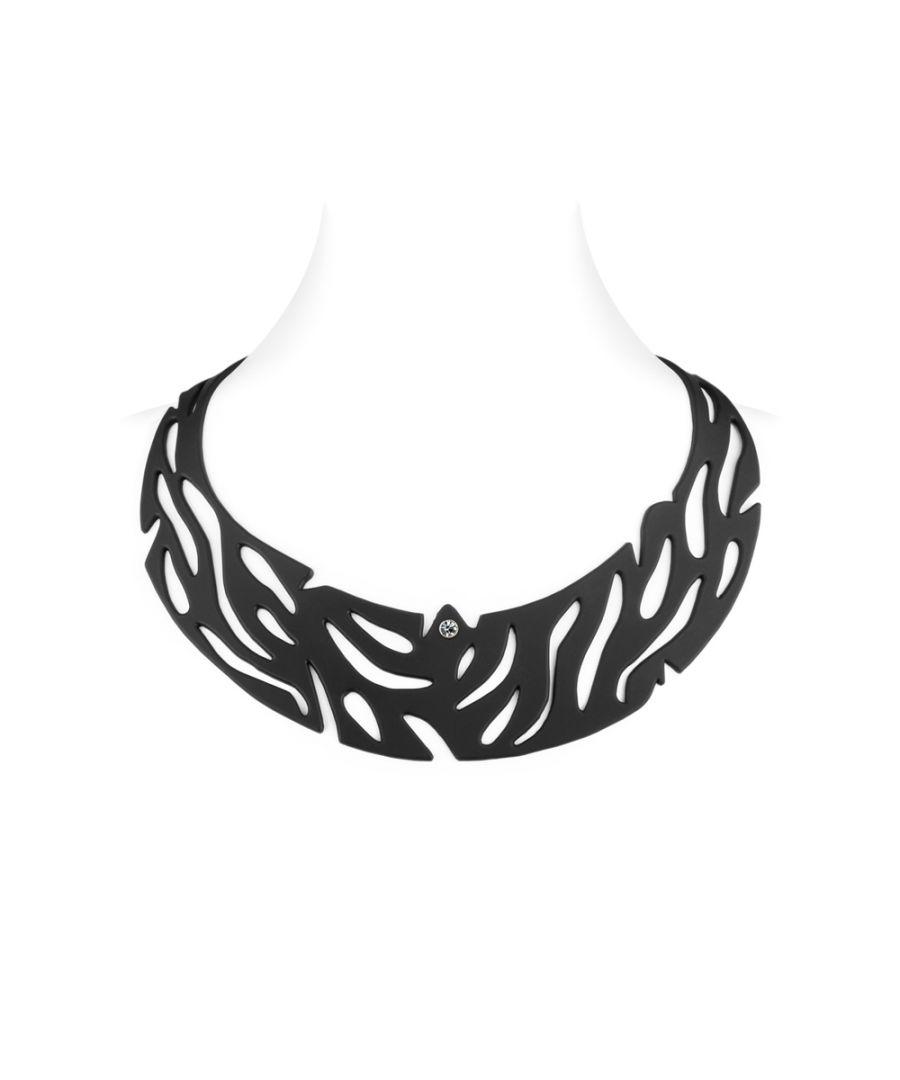 Image for Black Silicone Gum Jungle Necklace Effect Tatto