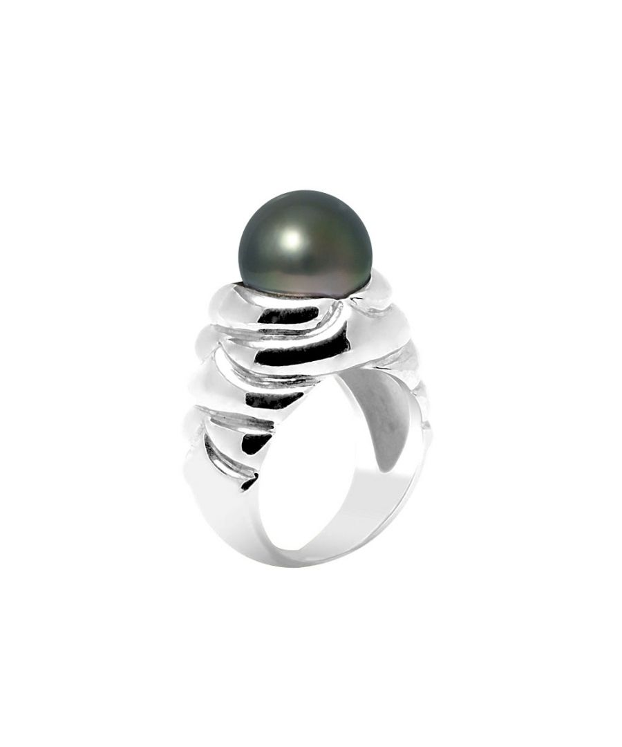 Image for Tahitian Pearl Ring 10-11 mm and Silver 925/1000