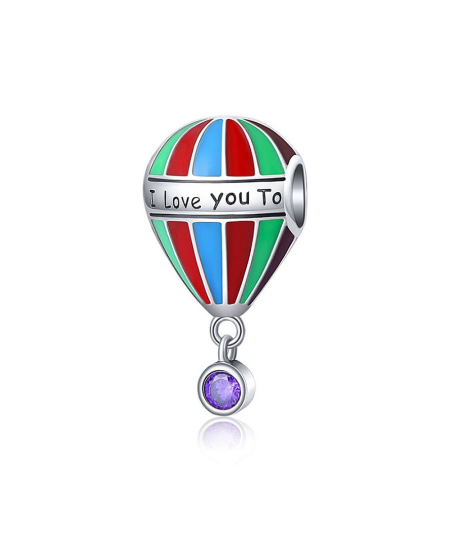 Image for 925 Silver Balloon Travel Charms bead