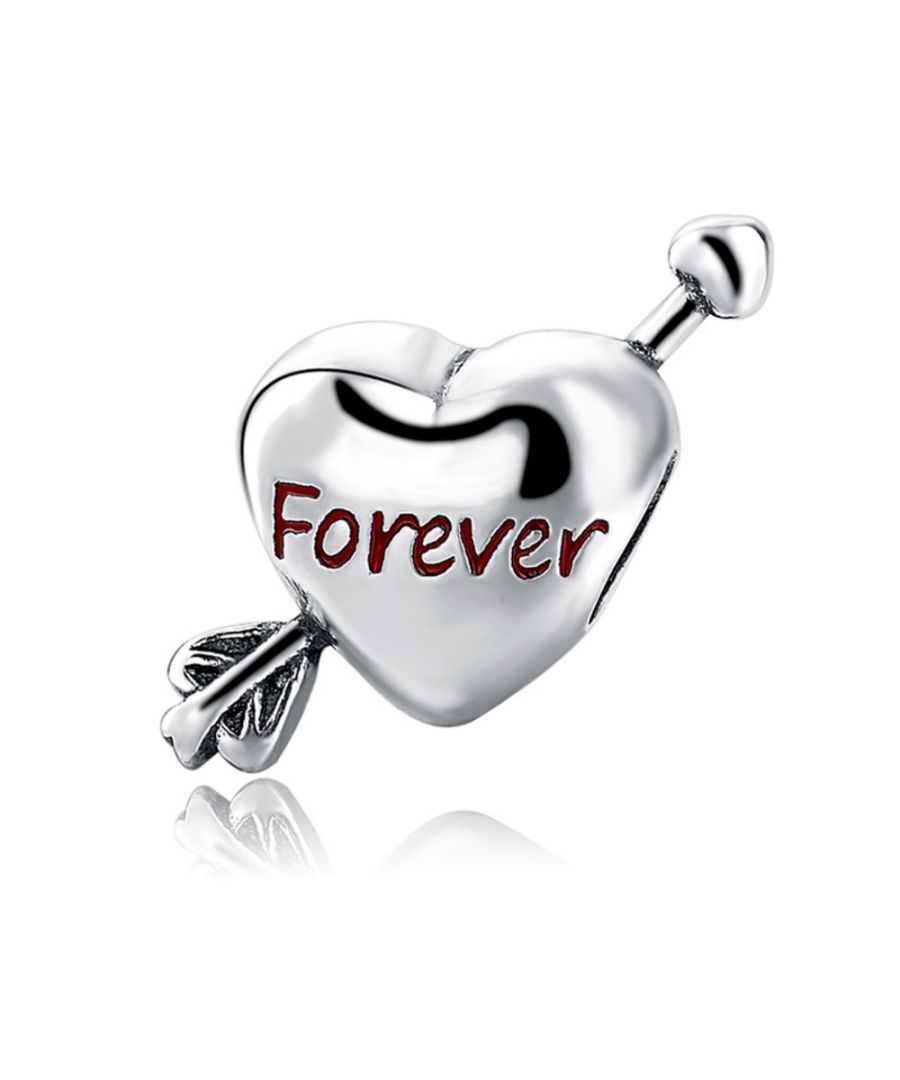 Image for 925 Silver Heart Forever Charms Bead