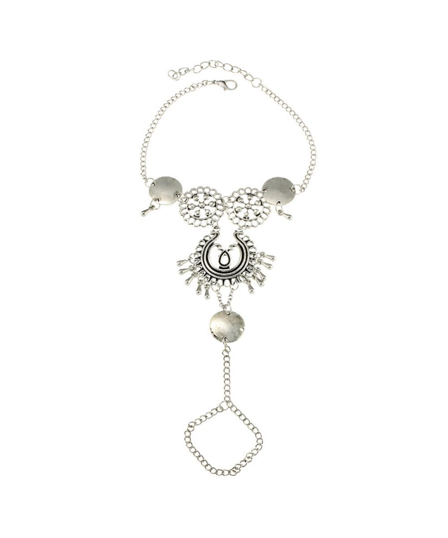 Image for Bohemian Foot Jewel in Stainless Steel