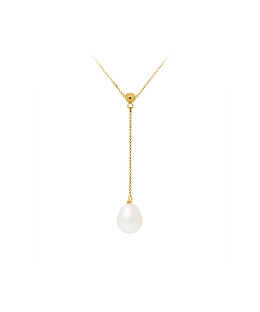 Image for White Freshwater Pearl Choker Necklace and 750/1000 Yellow Gold