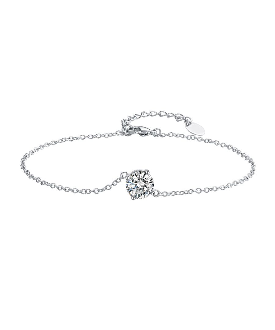 Image for Swarovski - White Swarovski Crystal Elements Bracelet
