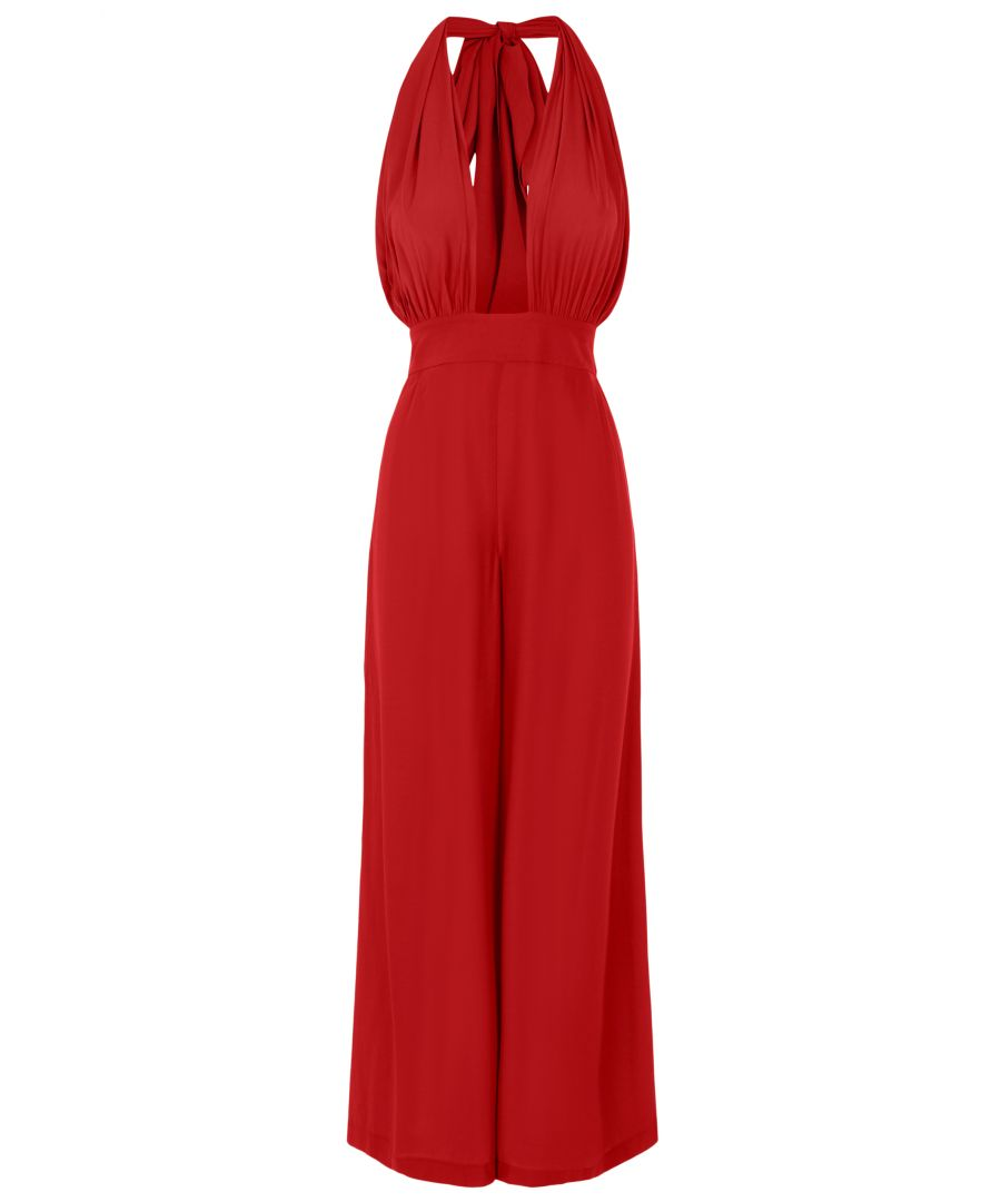Image for Miami Jumpsuit in Red