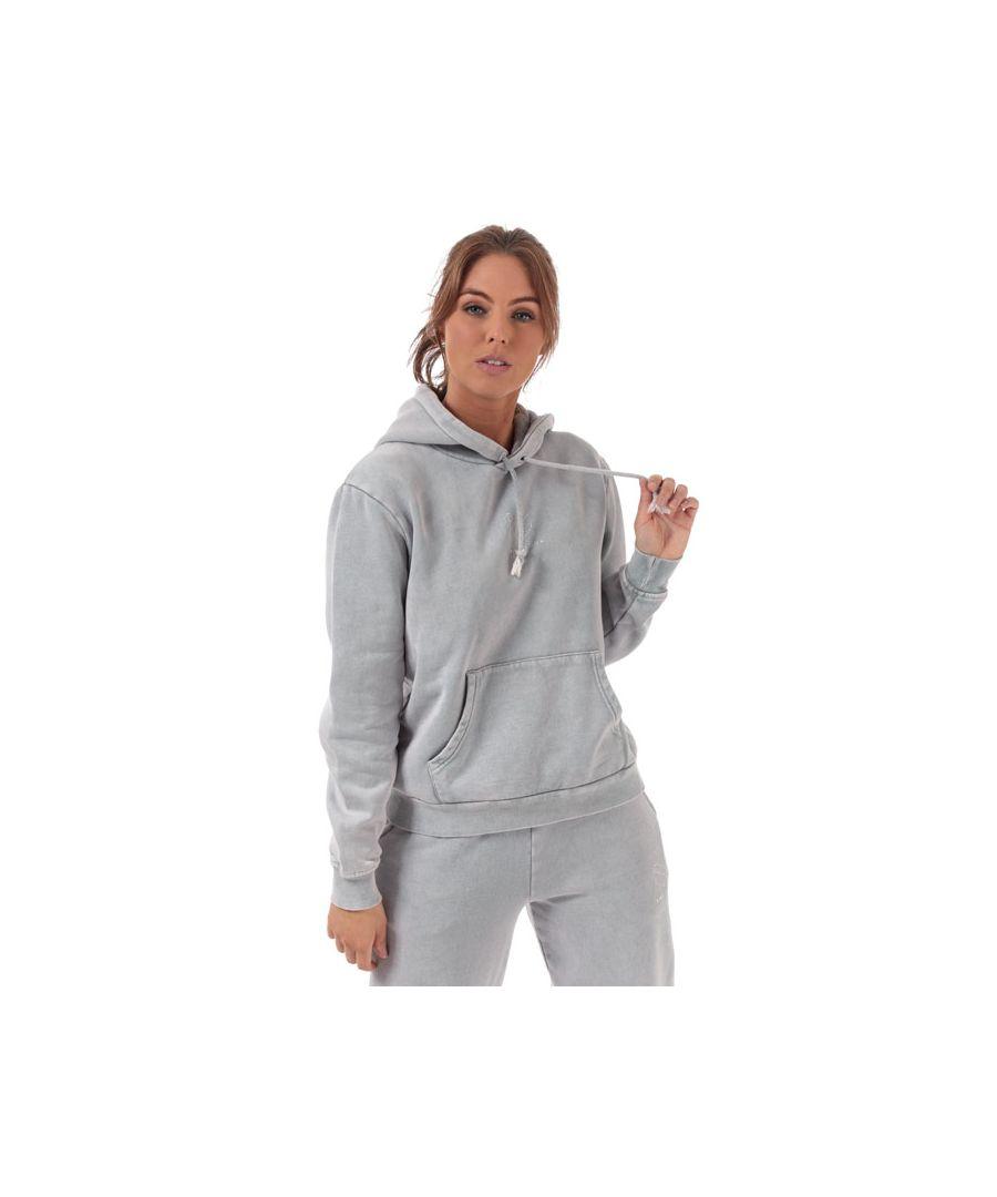 Image for Women's Pink Soda Sport Wash Boyfriend Hoodie in Grey