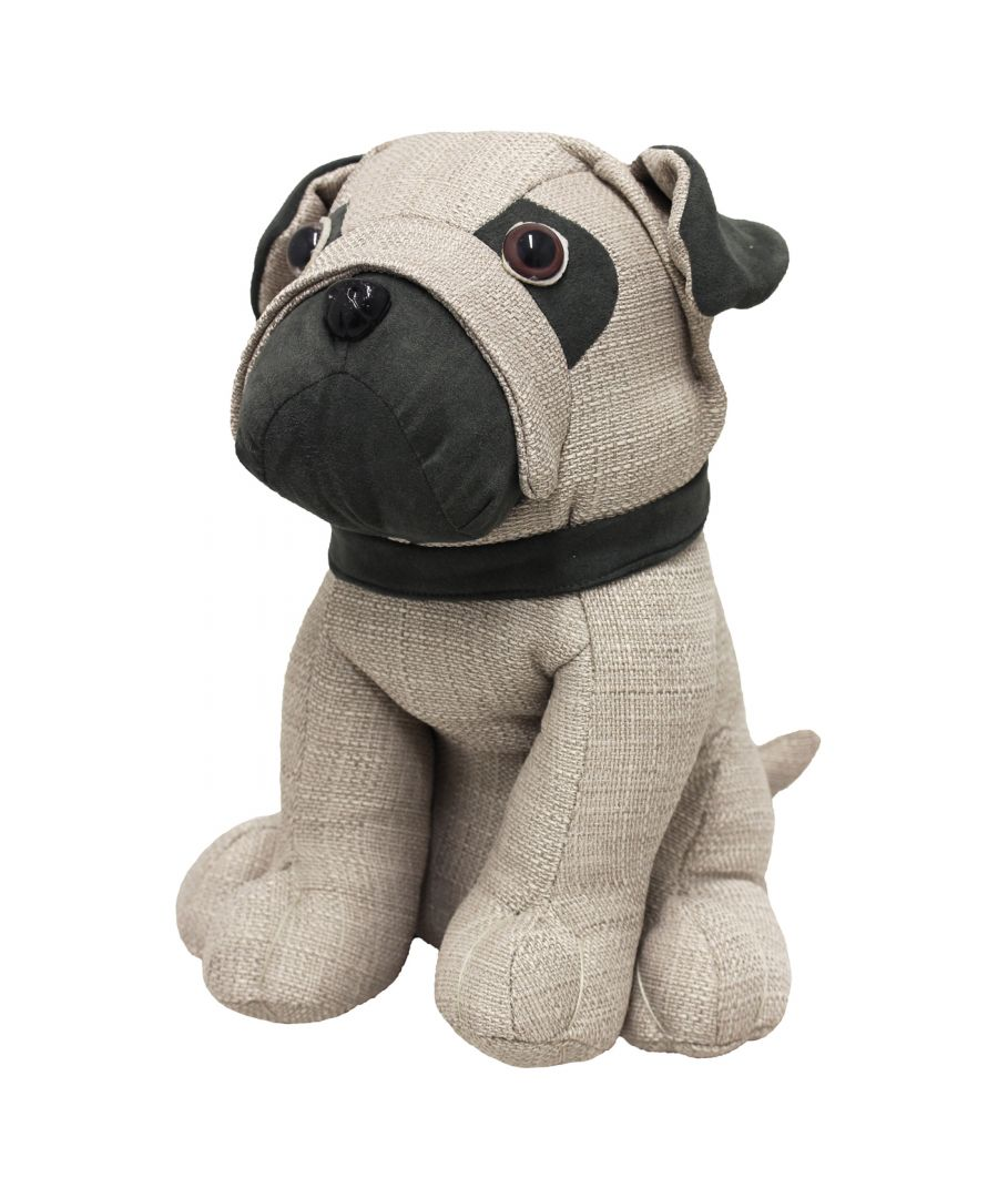 Image for Pug Doorstop, Multi
