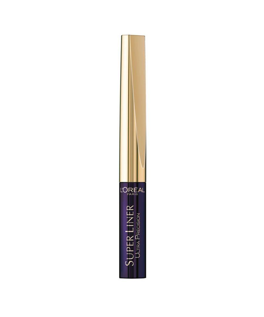 Image for L'Oreal Paris Super Liner Ultra Lasting Precision Tip Eyeliner Purple Black