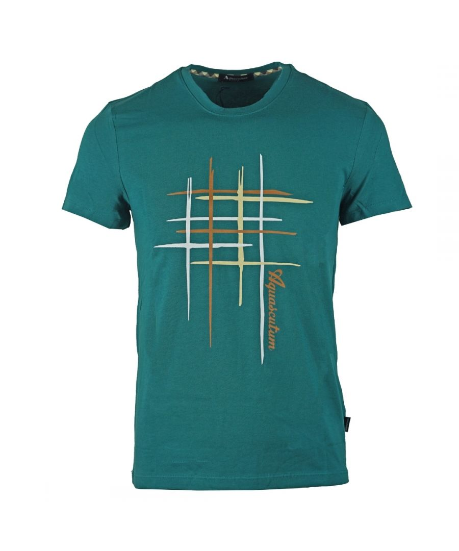 Image for Aquascutum Crew Neck Green T-Shirt